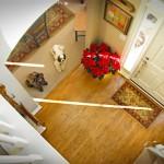 Upstairs; Downstairs