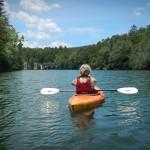 Paddling Tallulah Falls Lake