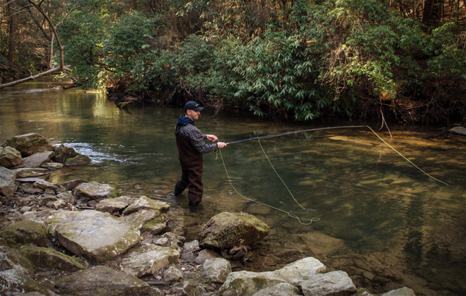 Trout streams and saturdays in northeast georgia cocoa for Blackhawk fly fishing