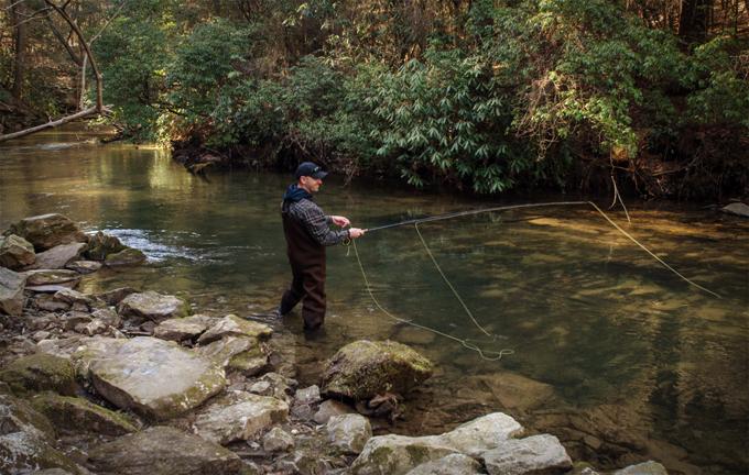 Trout streams and saturdays in northeast georgia cocoa for Trout farm fishing near me