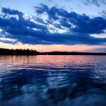 The Colours of Evening Blue