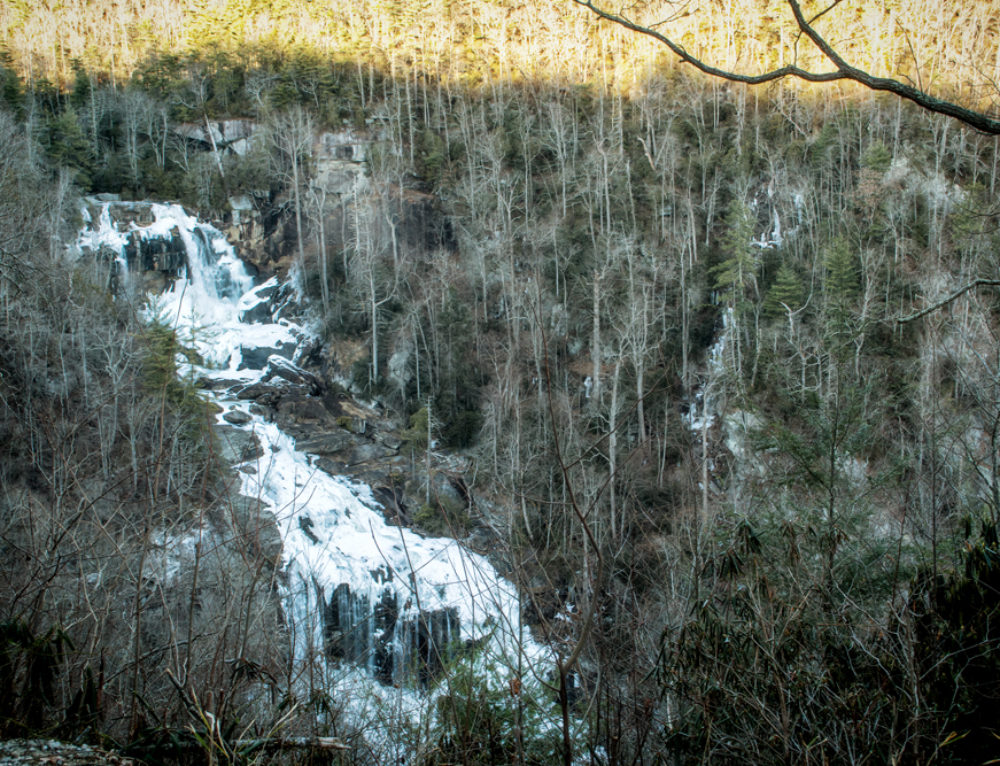 Whitewater Falls: First Hike of the Year