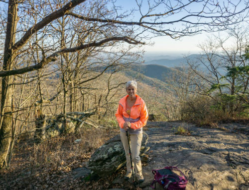 Conquering Blood Mountain!