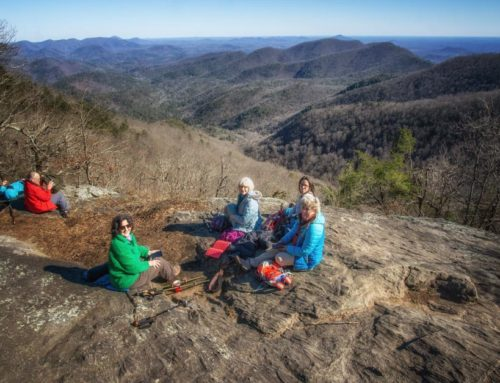 Blood Mountain Wilderness and Preacher's Rock